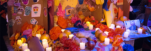 making an ofrenda provincetown s 3rd annual day of the dead