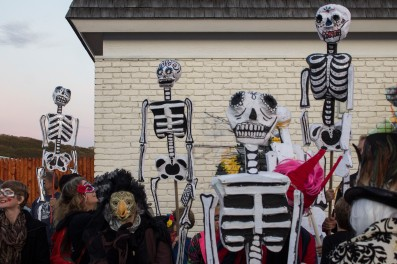 Pre-Procession for Day of the Dead 2017