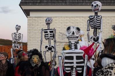 Pre-Procession for Day of the Dead 2017